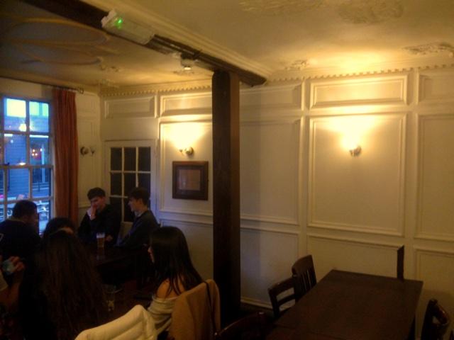Inside the Llandogger Trow Pub Bristol
